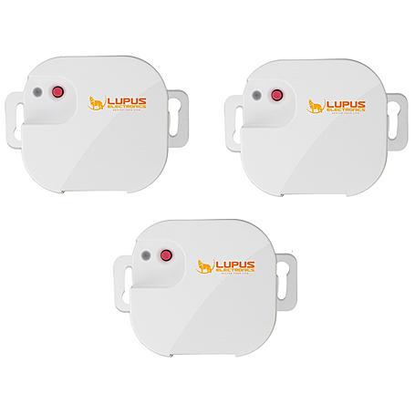 LUPUSEC 12031 Rollladenrelais für XT2Plus 3er Set