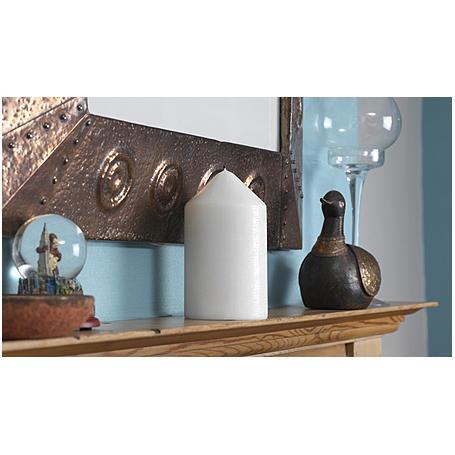 Kerze mit Geheimfach - Kerzen-Safe weiß - 3er Set