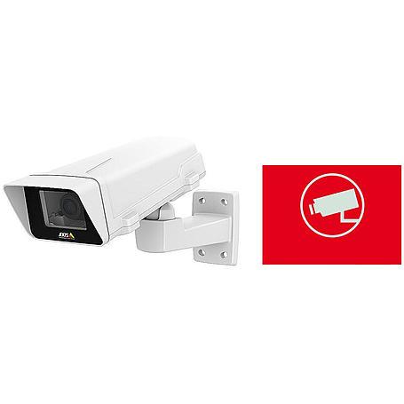 Axis IP-Kamera Set M1125-E + Aufkleber