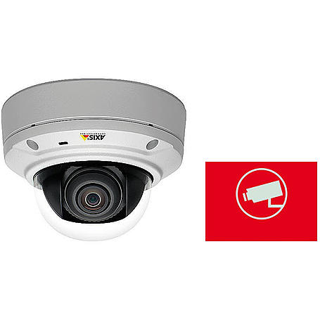 Axis IP-Kamera Set M3026-VE + Aufkleber