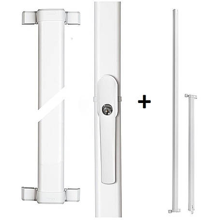 ABUS FOS550W + Stangenset 3W 118/118cm Komplettset