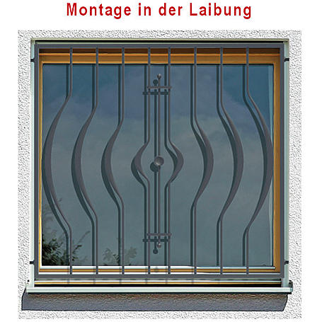 Tiamat Fenstergitter Einbruchschutz Frankfurt