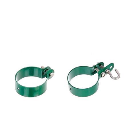 Zaunanschluss-Set Tor 1S, grün, Ø60 800-1750 mm