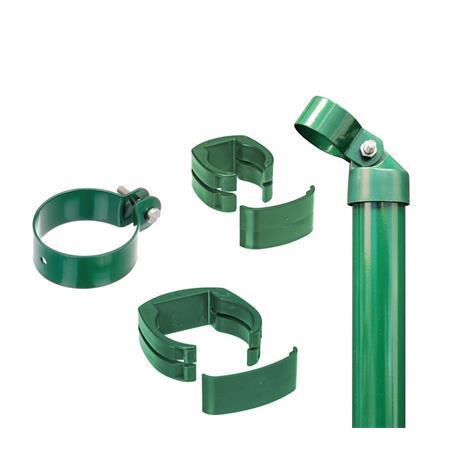 Zaunanschluss-Set 2S, grün, zE Ø60 1220 für Tor