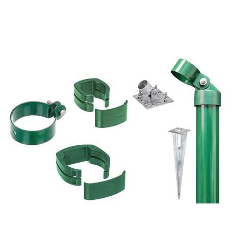 Zaunanschluss-Set 2S, grün, zA Ø60 1220 für Tor