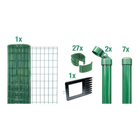 Fix-Clip Pro Set zE, grün, Höhe 810mm - 15 m