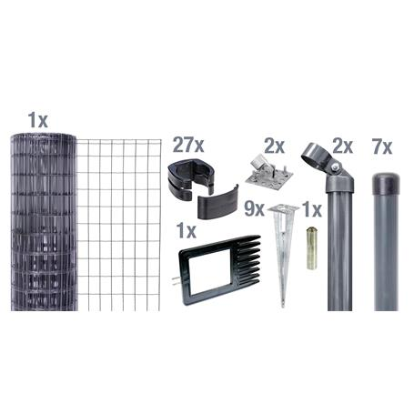 Fix-Clip Pro Set EBH, anth, hoch 810mm - 15m