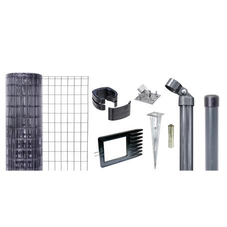 Fix-Clip Pro Set EBH, anth, hoch 1530mm - 15m