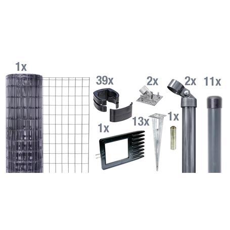 Fix-Clip Pro Set EBH, anth, hoch 1530mm - 25m