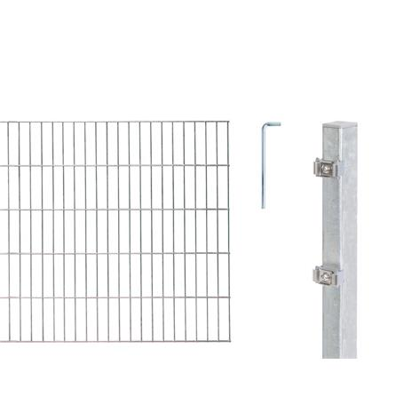 Doppelstabmatte-Set 6-5-6, fvz, 2000x1200, 10 m