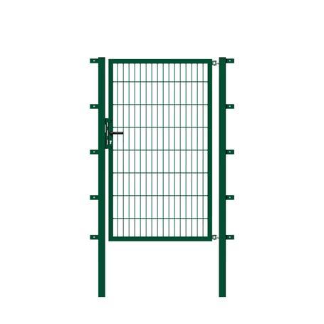 GAH Stabgitter Einzeltor grün 2000 x 2000 mm