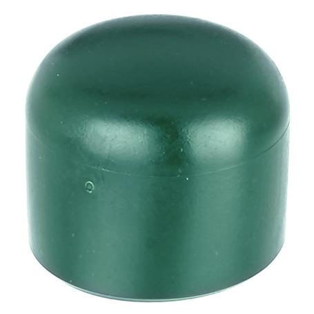 GAH Pfostenkappe rund, grün, f. Pfosten Ø34 mm
