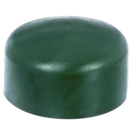 GAH Pfostenkappe rund, grün, f. Pfosten Ø60 mm