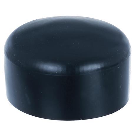 GAH Pfostenkappe rund, schwarz, f. Pfosten Ø60 mm