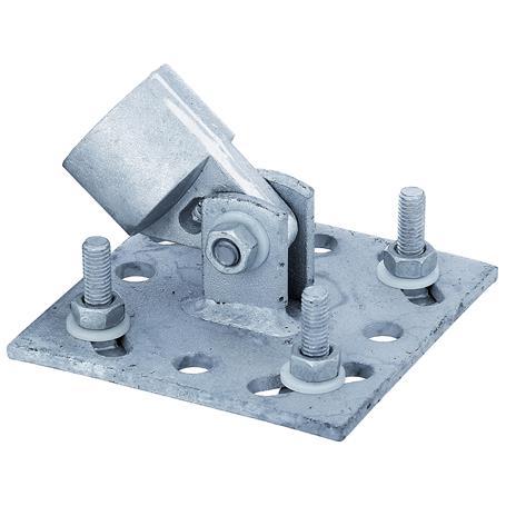 GAH Strebenplatte für Pfosten Ø34 mm