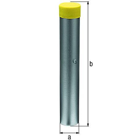 Bodenhülse für Absperrpfosten Ø60mm