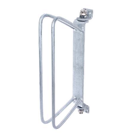 Einzel-Fahrradhalter zur Wandbefestigung 45-90°