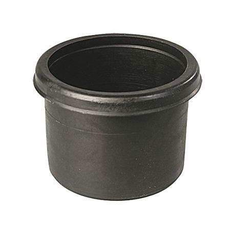Deckel für Absperrgitter u. Pfosten Ø55x4 schwarz