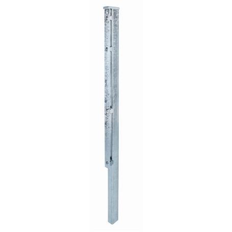 Zaunpfosten + Flacheisen fvz, 60x40x2800, 400 mm