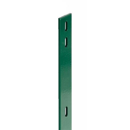 Flacheisen für Zaunpfosten grün, 40x4x2060, 400 mm