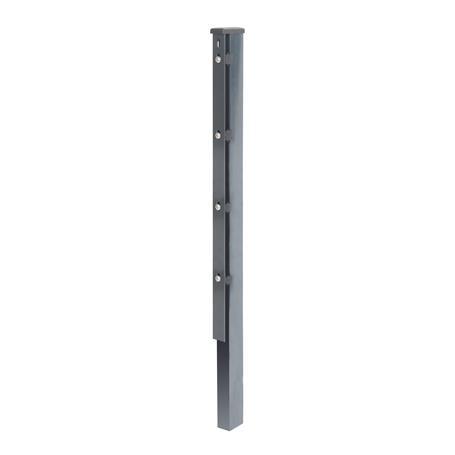 Zaunpfosten + Flacheisen anth, 60x40x2000, 400 mm