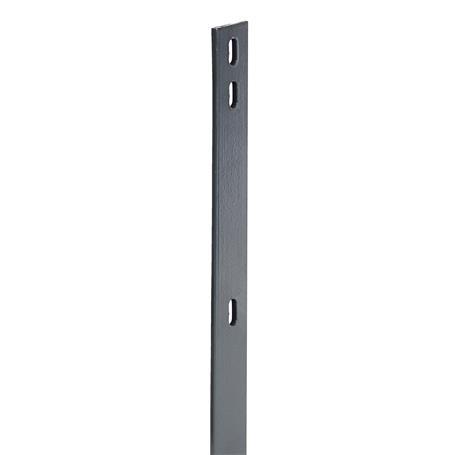 Flacheisen für Zaunpfosten anth, 40x4x2460, 400 mm