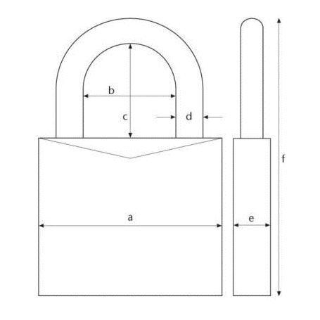 ABUS KeyGarage zur Wandmontage 787 Schlüsselkasten
