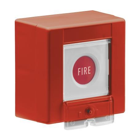 Papiereinsatz für Funk-Feueralarmtaster - 5 Stück