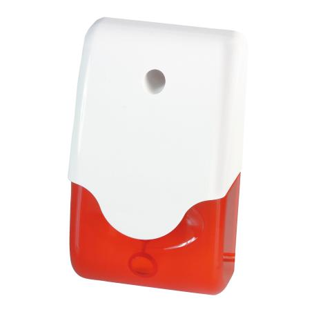 Abus SG1681 Sirene + Licht rot Kombisignalgeber