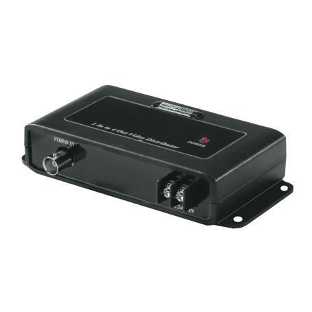 4-Kanal Video-Signalverteiler