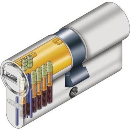 ABUS Halbzylinder HEC550NP A40 I10 GL