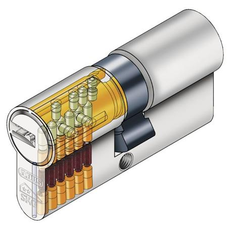 ABUS Knaufzylinder KXP2S A45 I30 CC