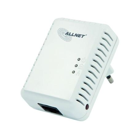 ALLNET 500Mbit HomePlugAV Mini Adapter 1er Pack