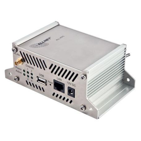 ALLNET ALL4075 Netzwerk Relais 4-fach 230V/10A