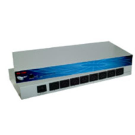 ALLNET ALL4100 8-Port Power Switch 19""