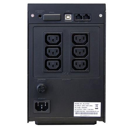 ALLNET ALL91500 USV 1500VA LineInterakt - 4min USB
