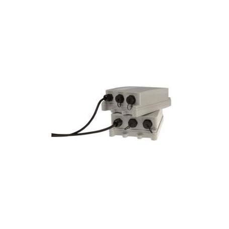 AXIS T8124-E PoE Midspan, 1 Port, IP66, 60W aussen