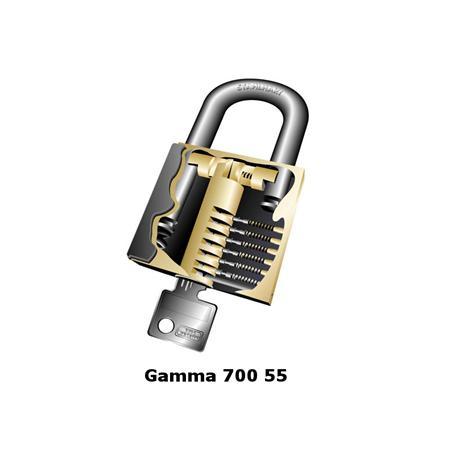 Burg Wächter Gamma 700 55 Vorhängeschloss