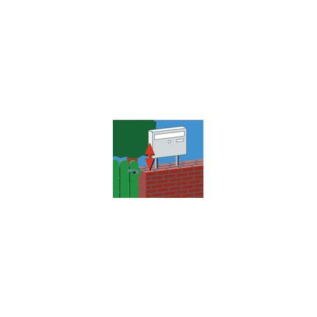 Burg Wächter Universal 150 Ni Briefkasten-Ständer