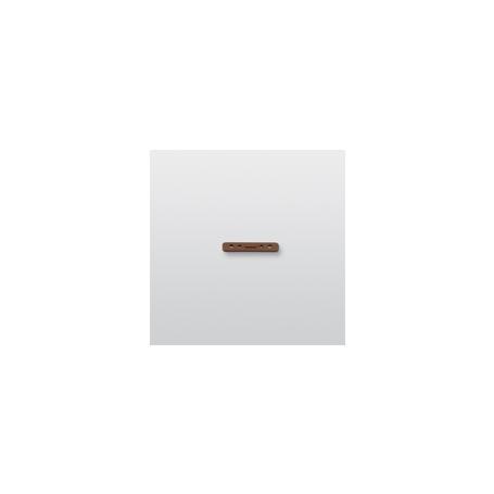 Telenot Distanzblock 2,5 mm für MK30 Magnetk.braun