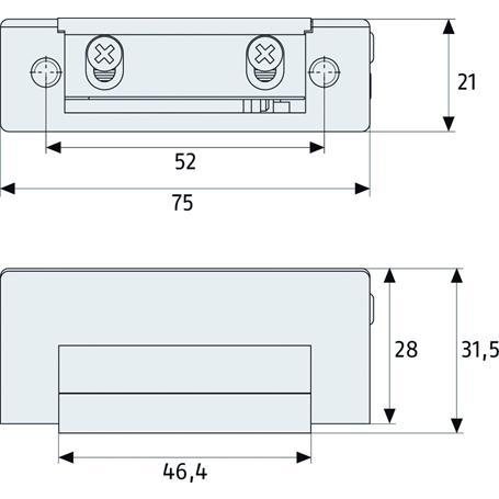 Abus ET80 Elektrischer Türöffner