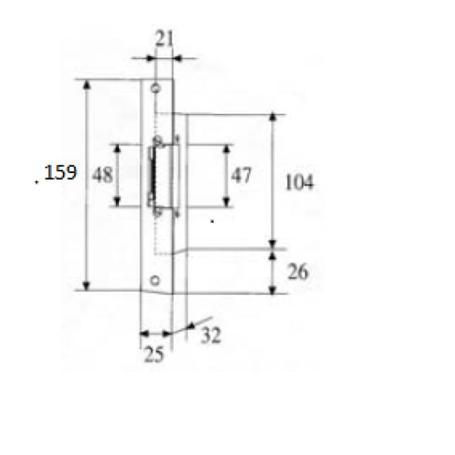 Fermax Elektrischer Türöffner NS