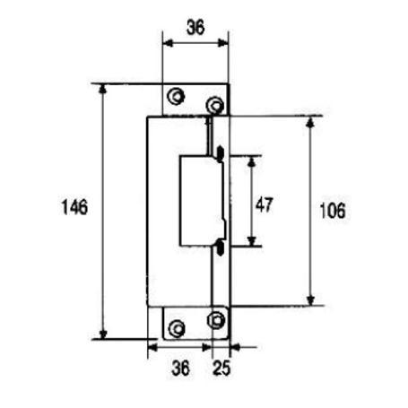 Fermax Elektrischer Türöffner N-2001, 2923