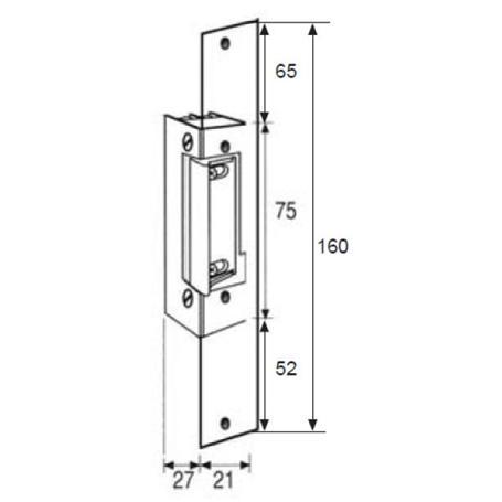 Fermax Elektrischer Türöffner 450N-412-S, 3070