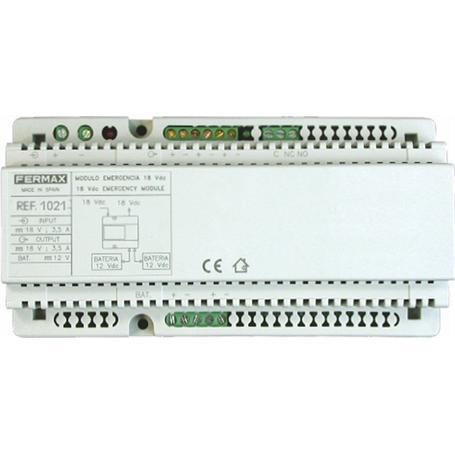 FERMAX Notausfallmodul Stromversorgung 18 Vdc