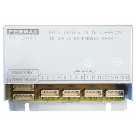 FERMAX Ruferweiterungseinheit 16 Klingelt.