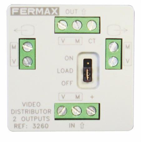 FERMAX BUS2 Verteiler 2 Ausgänge MINI