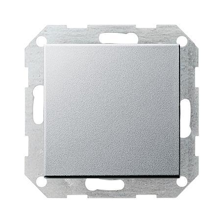 Gira Tast-Kreuzschalter System 55 aluminium