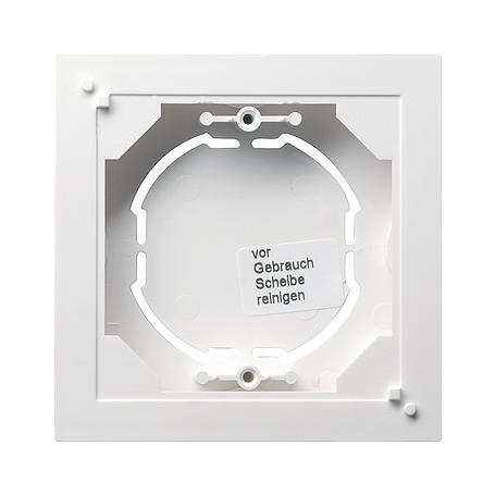Gira AP-Rahmen 1f. System 55 reinweiss matt