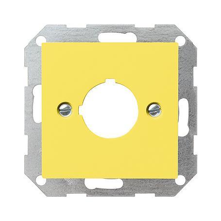Gira Zentraleinsatz Aufnahme 22,5mm ge-gl System55